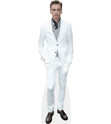 Jamie Campbell Bower (White Suit)