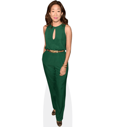 Sandra Oh (Green Outfit)