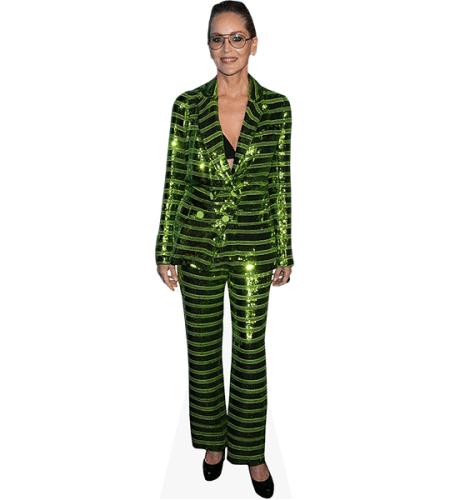 Sharon Stone (Green Suit)