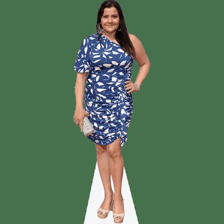 Nina Wadia (Blue Dress)