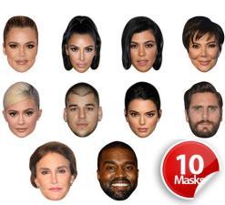 Kardashian Jenner Mask Pack