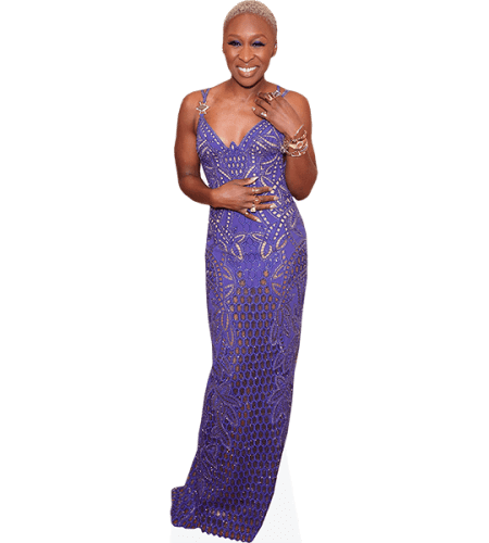 Cynthia Erivo (Purple Dress)