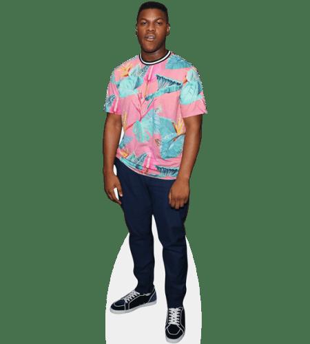 John Boyega (Pink Top)