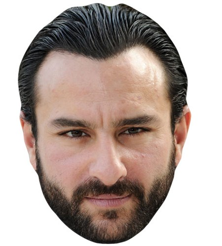 Saif Ali Khan Celebrity Mask