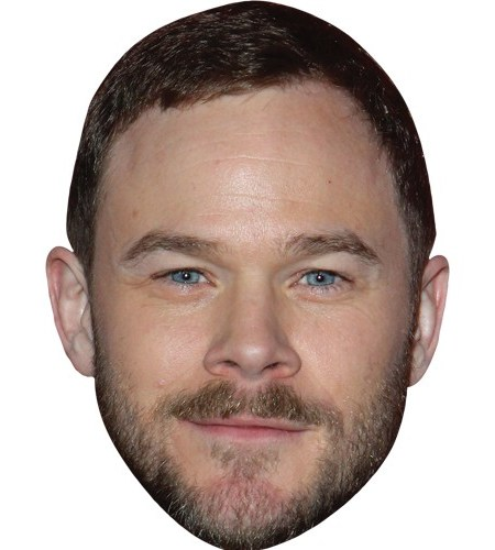 A Cardboard Celebrity Mask of Aaron Ashmore
