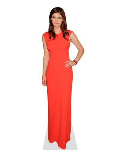 Alexandra Daddario (Red Dress)