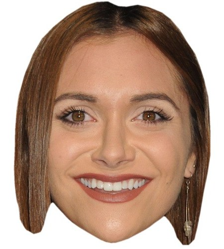 A Cardboard Celebrity Mask of Alyson Stoner
