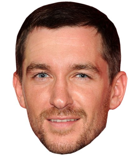 A Cardboard Celebrity Mask of Anthony Quinlan