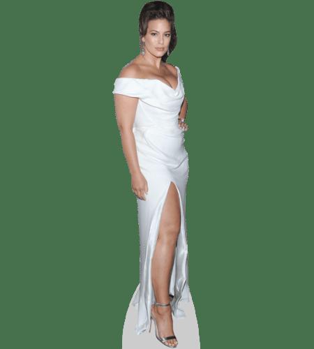 Ashley Graham (White Gown)