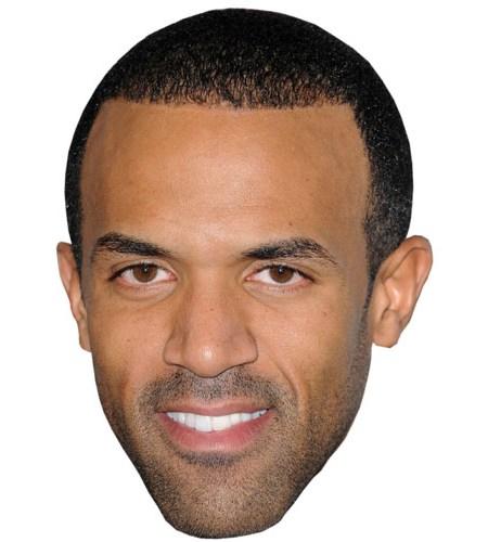 A Cardboard Celebrity Mask of Craig David