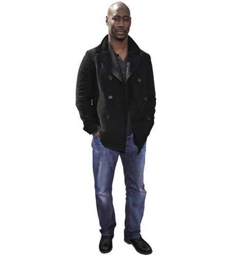 A Lifesize Cardboard Cutout of D B Woodside wearing jeans