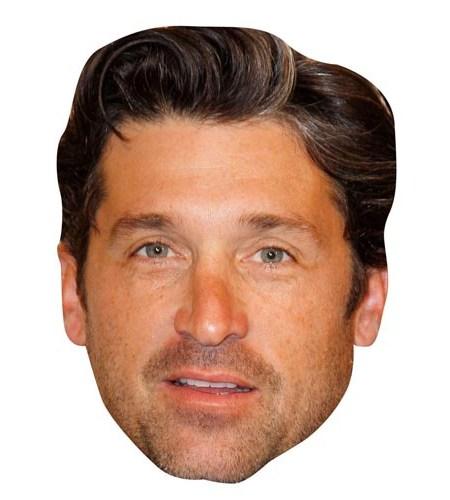 A Cardboard Celebrity Masks of Patrick Dempsey