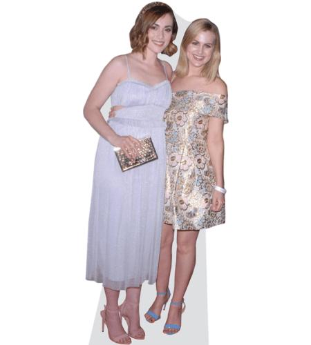 Rose and Rosie Cardboard Cutout
