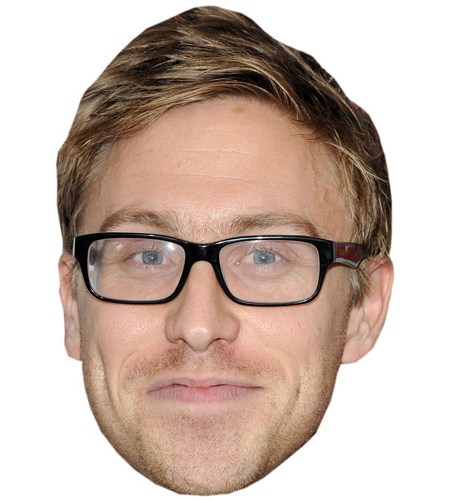 Russell Howard Cardboard Celebrity Mask
