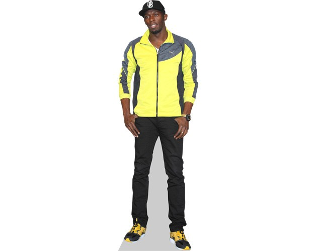 Usain Bolt Stand-In Life Size Standee