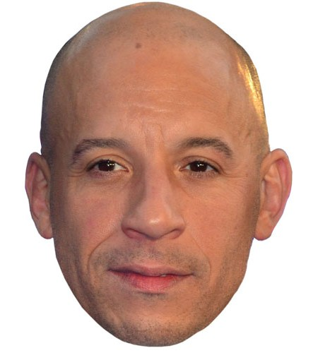 Vin Diesel Celebrity Mask