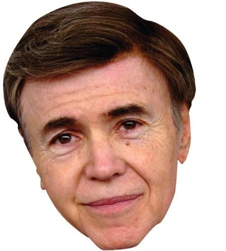 A Cardboard Celebrity Mask of Walter Koenig
