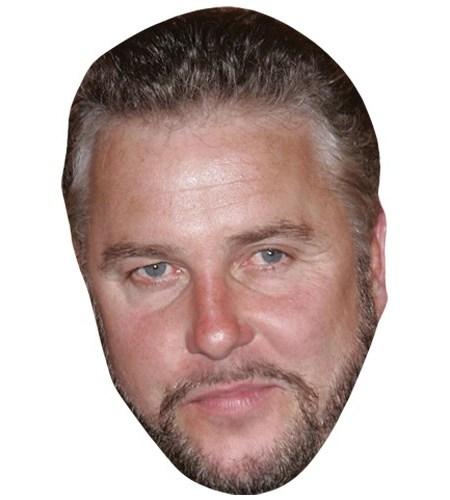 A Cardboard Celebrity Mask of William Petersen
