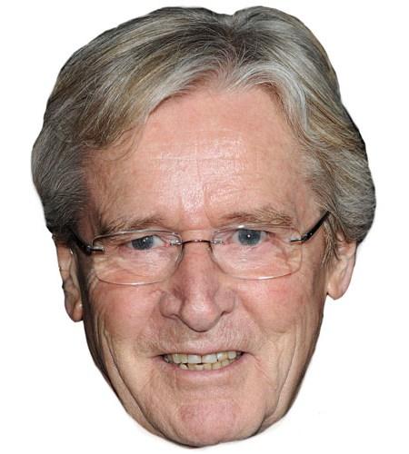 A Cardboard Celebrity William Roache Mask