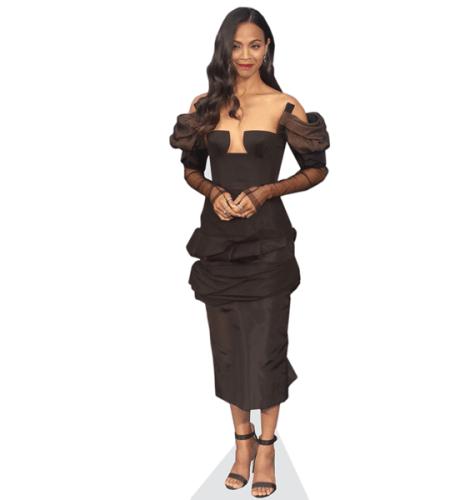 Zoe Saldana (Black Dress)