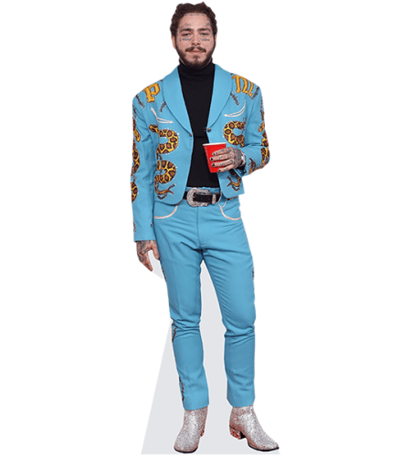 Post Malone (Blue Suit)