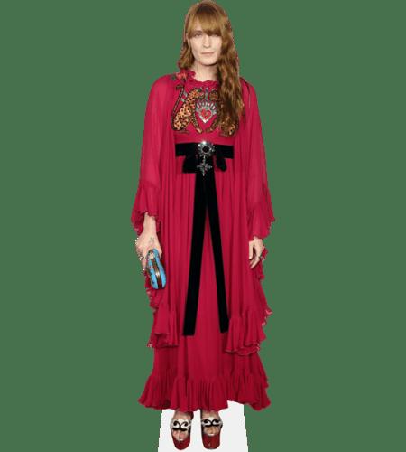 Florence Welch (Dark Pink Dress)