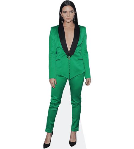 Katie Stevens (Green Suit)