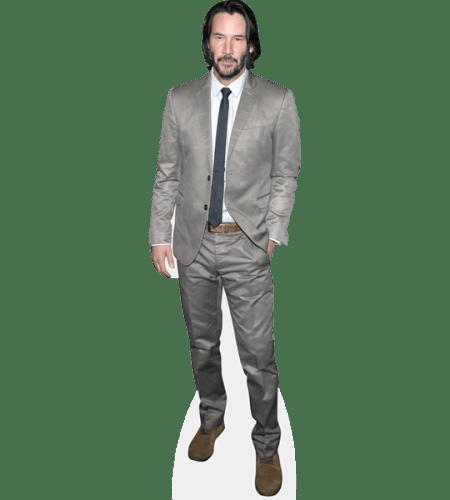 Keanu Reeves (Grey Suit)