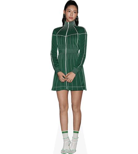 Seolhyun (Green Dress)
