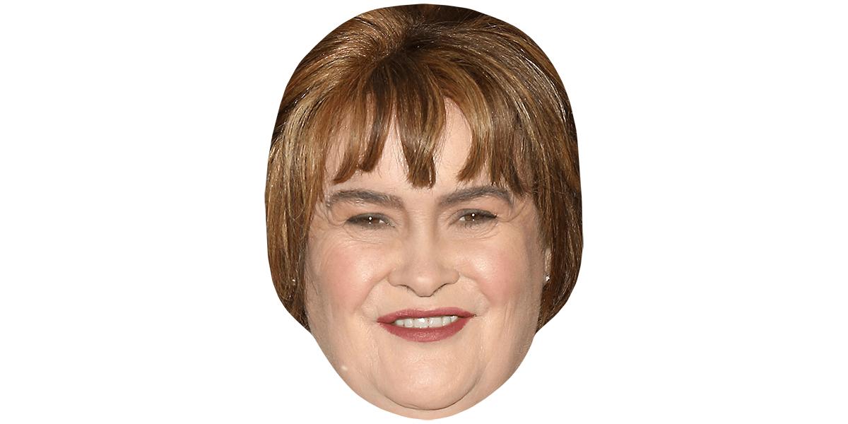 Susan Boyle Black Dress Life Size Cutout