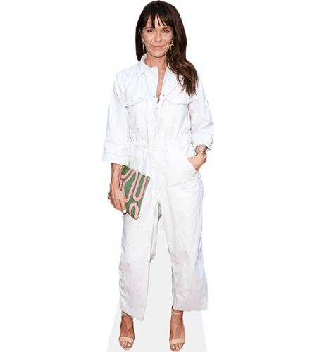 Katie Aselton (White Outfit)