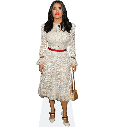 Salma Hayek (White Dress)