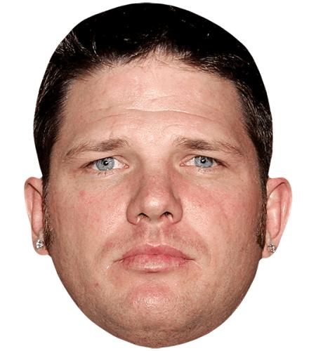 A J Styles Short Hair Celebrity Mask Celebrity Cutouts