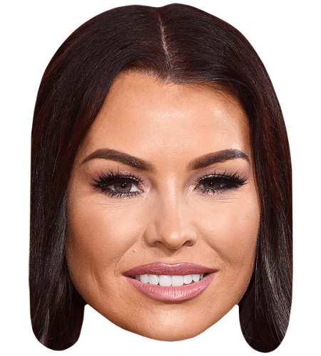 Jessica Wright Smile Celebrity Mask Celebrity Cutouts