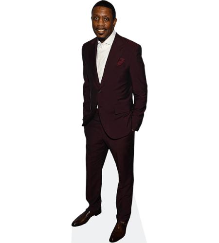 Keith Sweat (Burgendy Suit)