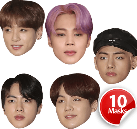BTS Mask Pack