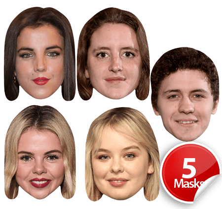 Derry Girls Mask Pack