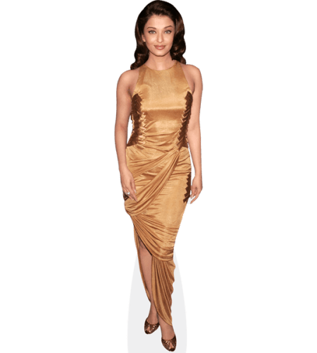 Aishwarya Rai (Gold Dress)