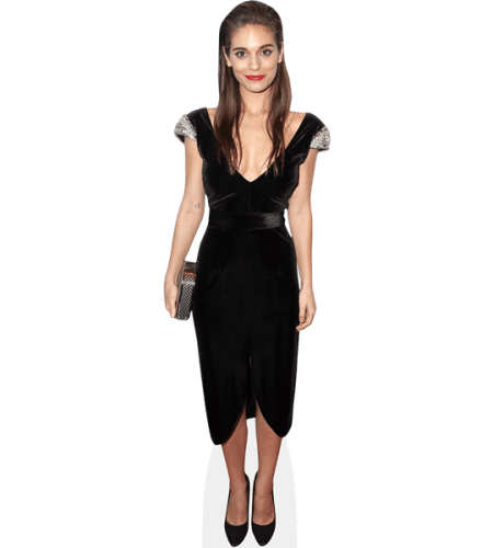 Caitlin Stasey (Black Dress)