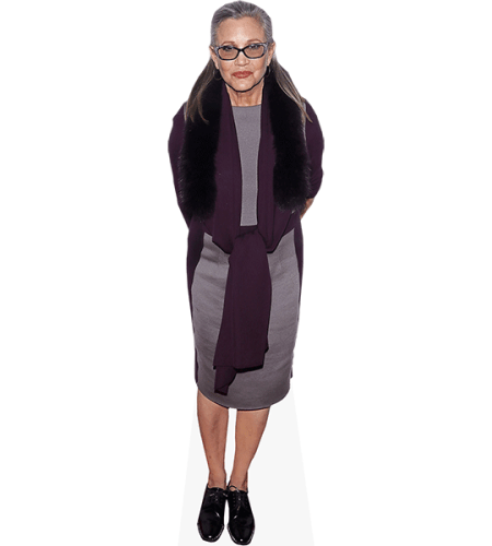 Carrie Fisher (Casual Dress)