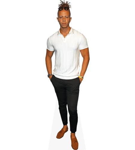 Chris Jammer (White T-shirt)