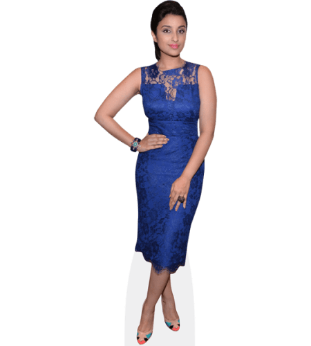 Parineeti Chopra (Blue Dress)