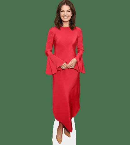 Sela Ward (Red Dress)