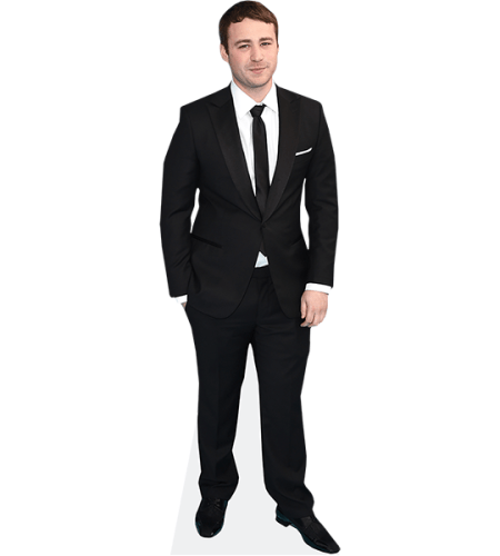 Emory Cohen (Black Suit)