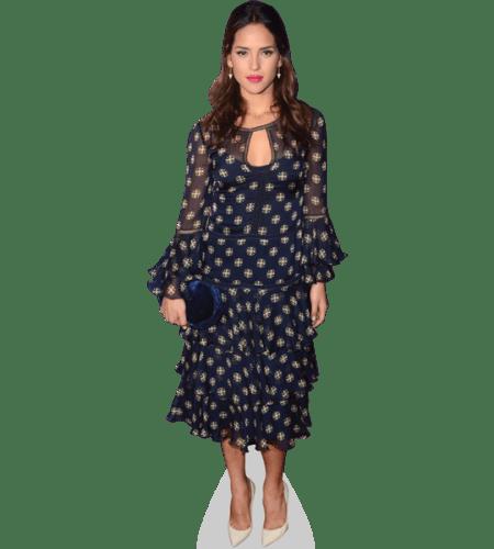 Adria Arjona (Blue Dress)