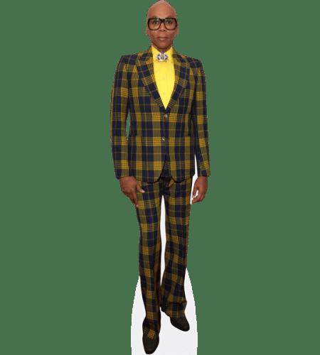 RuPaul (Checkered Suit)