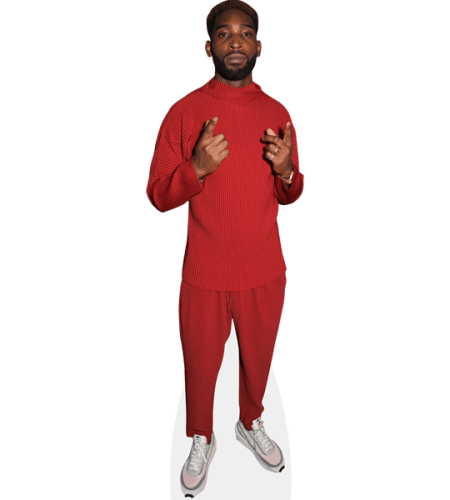 Tinie Tempah (Red Outfit)
