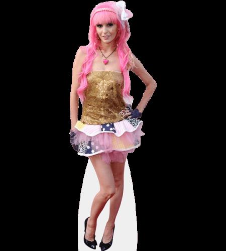 Audrey Kitching (Pink Hair)