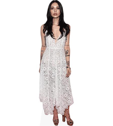 Hanna Beth Merjos (White Dress)