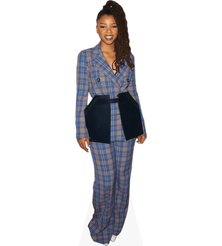 Chloe Bailey (Checkered Suit)